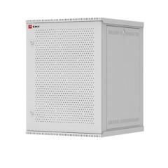 Шкаф телекоммуникационный настенный разборный 18U (600х650) дверь перфорированная