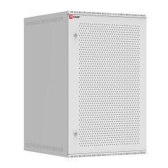 Шкаф телекоммуникационный настенный 18U (600х650) дверь перфорированная