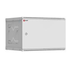 Шкаф телекоммуникационный настенный разборный 6U (600х450) дверь металл