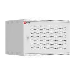 Шкаф телекоммуникационный настенный 6U (600х450) дверь перфорированная