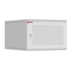 Шкаф телекоммуникационный настенный 6U (600х650) дверь перфорированная