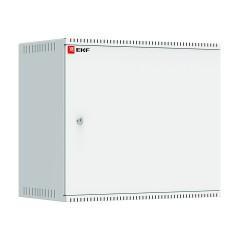 Шкаф телекоммуникационный настенный 9U (600х350) дверь металл