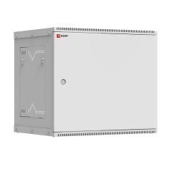 Шкаф телекоммуникационный настенный разборный 9U (600х450) дверь металл