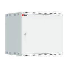 Шкаф телекоммуникационный настенный 9U (600х450) дверь металл