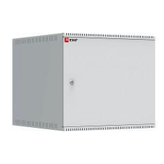 Шкаф телекоммуникационный настенный 9U (600х650) дверь металл