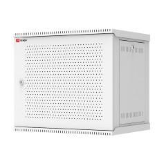 Шкаф телекоммуникационный настенный разборный 9U (600х450) дверь перфорированная
