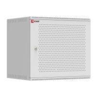 Шкаф телекоммуникационный настенный 9U (600х450) дверь перфорированная