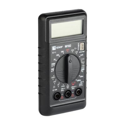 Мультиметр цифровой M182 EKF Master; In-180701-bm182