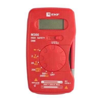 Мультиметр цифровой M300 EKF Expert; In-180701-pm300