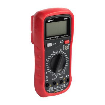 Мультиметр цифровой MY61 EKF Expert; In-180701-pm61