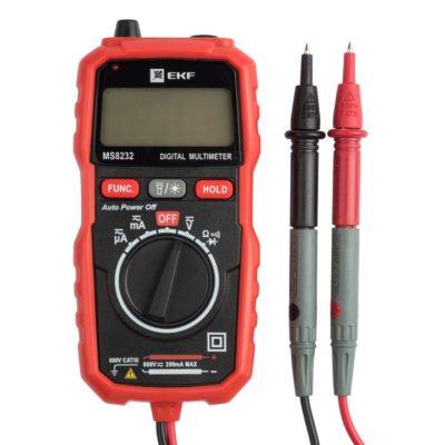 Мультиметр цифровой MS8232 EKF Expert; In-180701-pm8232