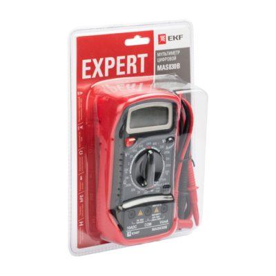 Мультиметр цифровой MAS830B EKF Expert; In-180701-pm830B