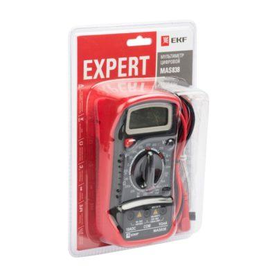 Мультиметр цифровой MAS838 EKF Expert; In-180701-pm838