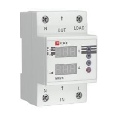 Реле напряжения и тока с дисплеем MRVA 25A EKF PROxima