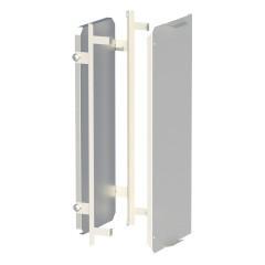 Комплект монтажной панели и фальш-панели для ModBox высотой 1100 мм EKF PROxima