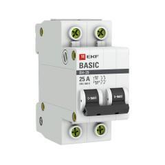Выключатель нагрузки 2P 25А ВН-29 EKF Basic