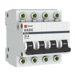 Выключатель нагрузки 4P 16А ВН-29 EKF Basic
