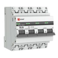 Выключатель нагрузки 4P  16А ВН-63 EKF PROxima