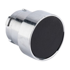 Исполнительный механизм кнопки XB4 черный плоский  возвратный без фиксации