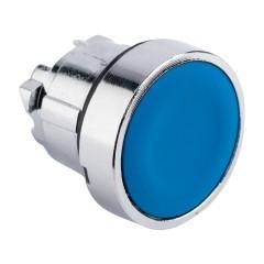 Исполнительный механизм кнопки XB4 синий плоский  возвратный без фиксации