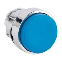 Исполнительный механизм кнопки XB4 синий выпирающая  возвратный без фиксации