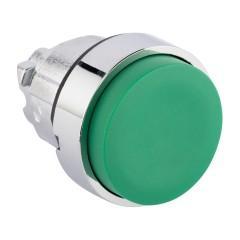 Исполнительный механизм кнопки XB4 зеленый выпирающая  возвратный без фиксации
