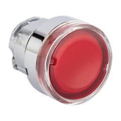 Исполнительный механизм кнопки XB4 красный плоский  возвратный без фиксации