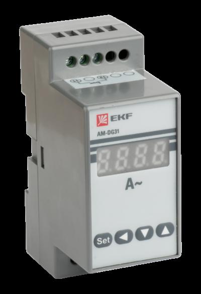 Амперметр AD-G31 цифровой на DIN однофазный EKF PROxima ; ad-g31