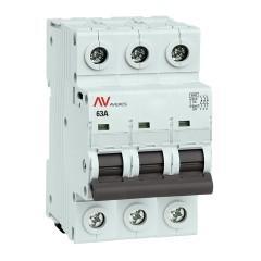 Выключатель нагрузки AVN 3P 63A EKF AVERES