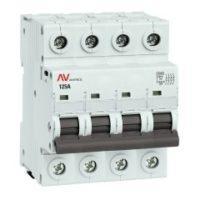 Выключатель нагрузки AVN 4P 125A EKF AVERES