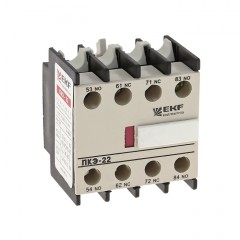 Приставка контактная ПКЭ-04 4NC EKF PROxima