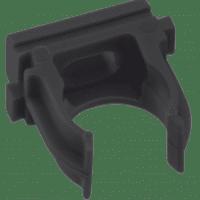 Крепеж-клипса черная d25мм  (10шт.) Plast EKF PROxima