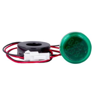 Индикатор значения тока и напряжения зеленый ED16-22AVD 100А EKF PROxima; ed16-22avd-g