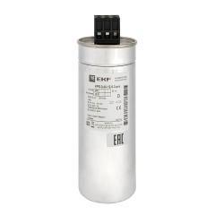 Конденсатор косинусный КПС-0,4-12,5-3 EKF PRO; kps-0,4-12,5-3-pro