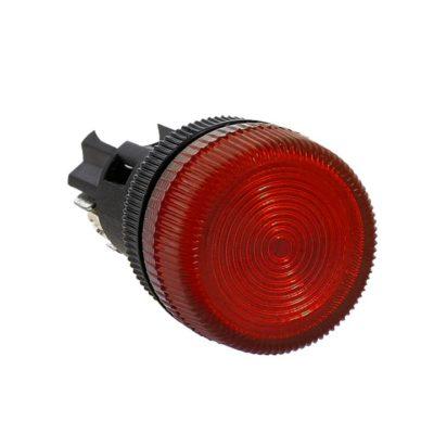 Лампа сигнальная ENS-22 красная 24В EKF PROxima; la-ens-r-24
