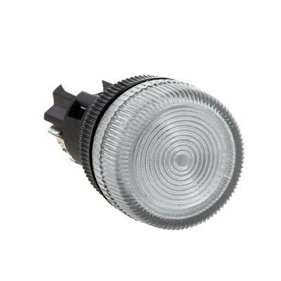 Лампа сигнальная ENS-22 белая 24В EKF PROxima; la-ens-w-24