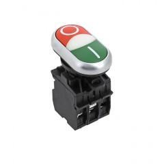 """Кнопка LA32HND красно-зеленая """"Пуск-Стоп"""" с подсветкой NO+NC EKF PROxima"""