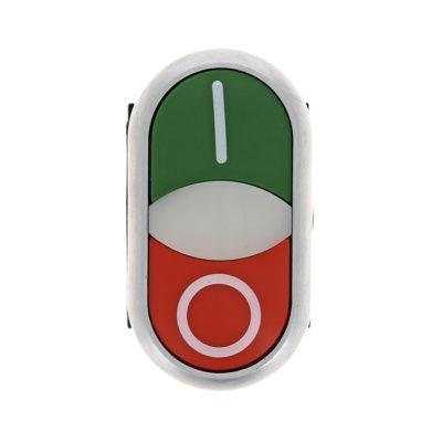 """Кнопка LA32HND красно-зеленая """"Пуск-Стоп"""" с подсветкой NO+NC EKF PROxima; la32hnd"""