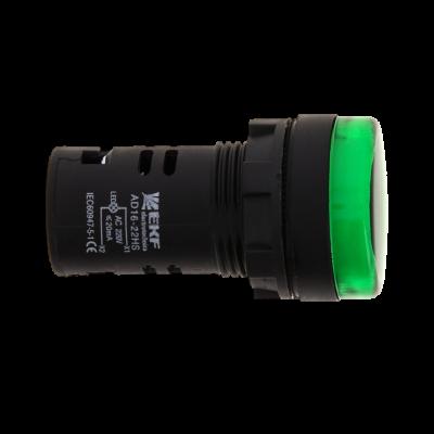 Матрица светодиодная AD16-16HS зеленая 24 В AC/DC (16мм) EKF PROxima; ledm-ad16-24-g