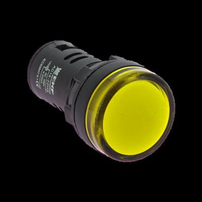 Матрица светодиодная AD16-16HS желтая 24 В AC/DC (16мм) EKF PROxima; ledm-ad16-24-y