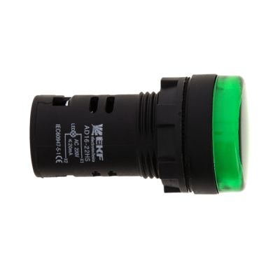 Матрица светодиодная AD16-22HS зеленый 230 В AC EKF PROxima; ledm-ad16-g