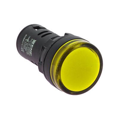 Матрица светодиодная AD16-22HS желтая 12В AC/DC EKF PROxima ; ledm-ad16-y-12