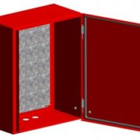 Щит с монтажной панелью ЩМПг-100.65.30 (ЩРНМ-5) RAL 3001 IP54 EKF PROxima