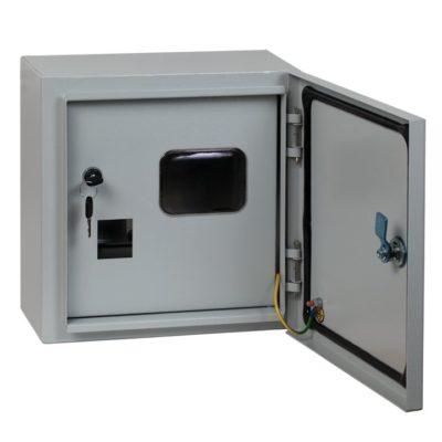 Щит учетный ЩУ-1/1-1 двухдверный (310х300х160) IP54 EKF PROxima; mb54-1-2