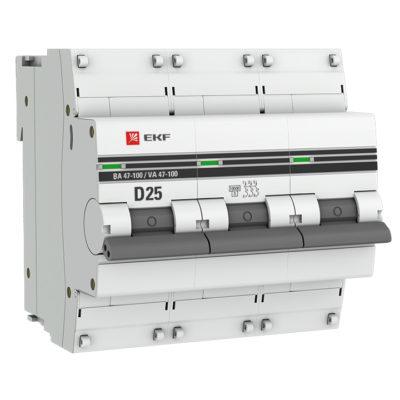 mcb47100-3-25D-pro