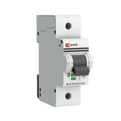 Автоматический выключатель 1P  80А (D) 15кА ВА 47-125 EKF PROxima