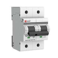 Автоматический выключатель 2P 125А (C) 15кА ВА 47-125 EKF PROxima