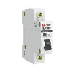 Автоматический выключатель 1P  6А (B) 4