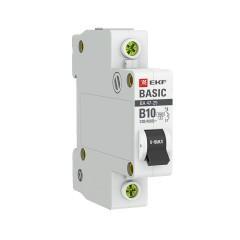 Автоматический выключатель 1P 10А (B) 4