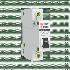 Автоматический выключатель 1P 20А (C) 4
